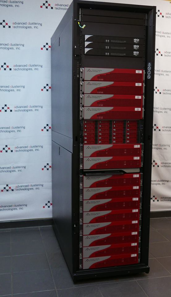 800 core HPC cluster
