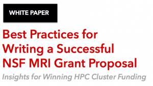 HPC grant writing white paper
