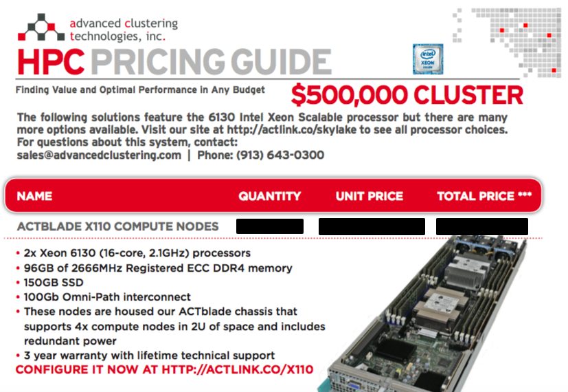 Our NEW HPC Pricing Guide
