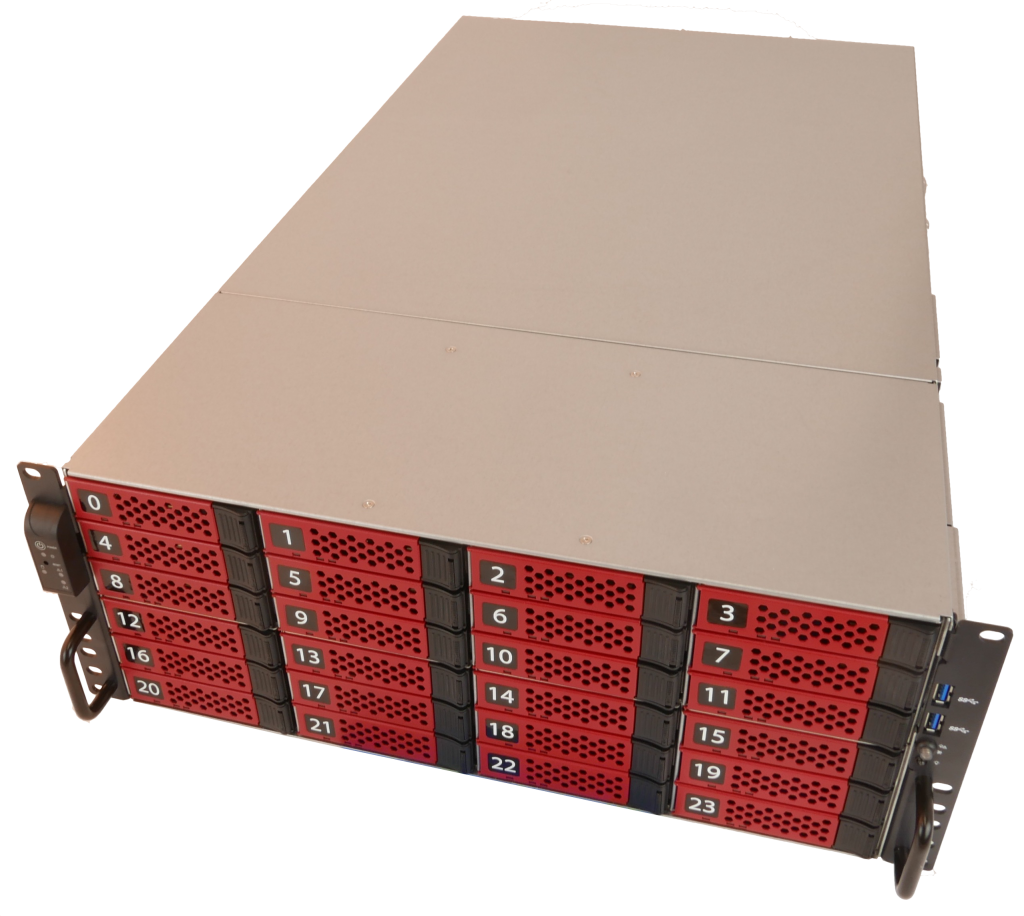 Large capacity HPC storage