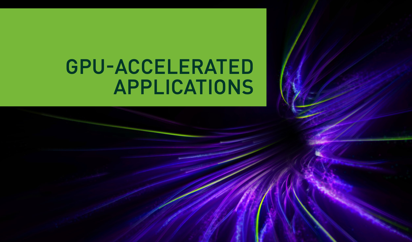 Download the Guide to GPU Accelerated Applications